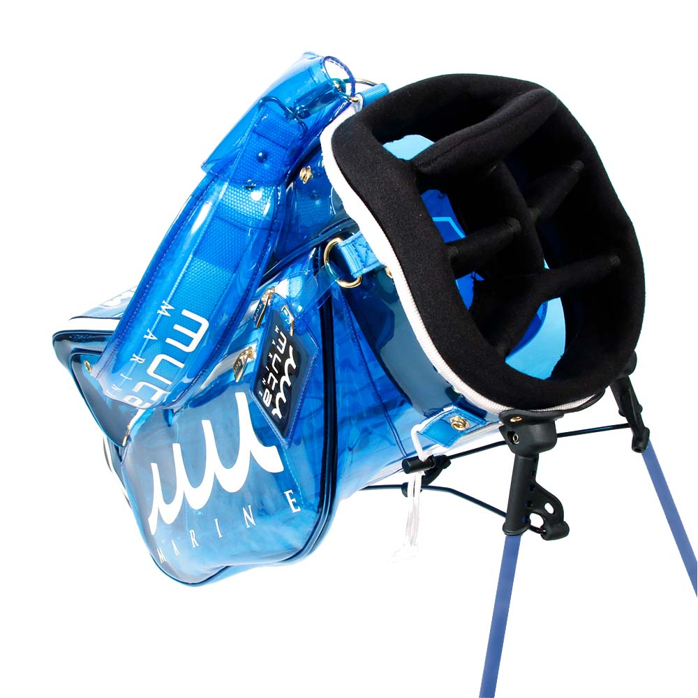 muta MARINE GOLF クリアキャディバック MGAD-749007 BLUE