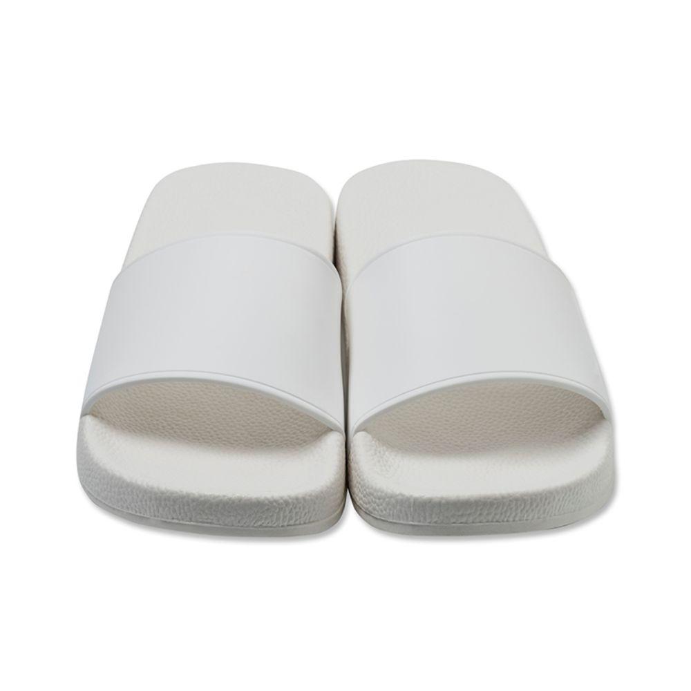 BANDEL サンダル SIDE LOGO Slider BAN-SD002 White×Black