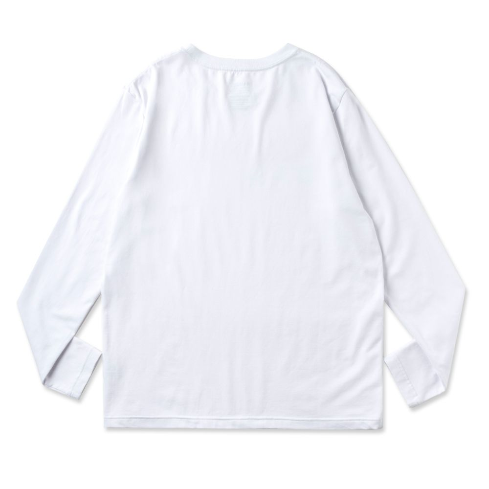 BANDEL ロンT Woven Label BAN-LT021 White