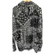 RESOUND CLOTHING ラッシュフーディー BANDANA RUSH RC19-C-003 BLACKxWHITE
