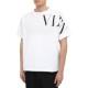 VALENTINO Tシャツ VV3MG03S742 BIANCOxNERO