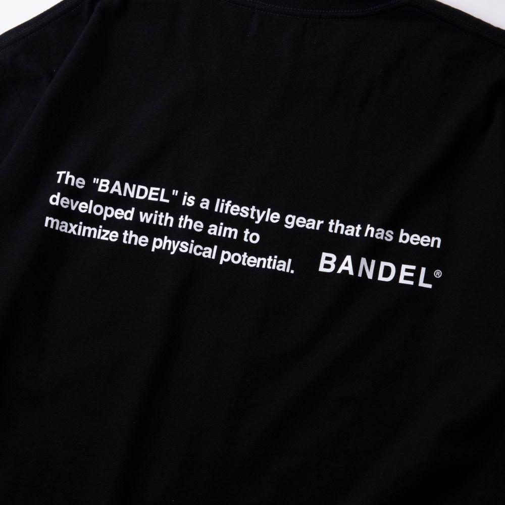BANDEL ロンT GHOST Concept Note BAN-LT022 Black×White