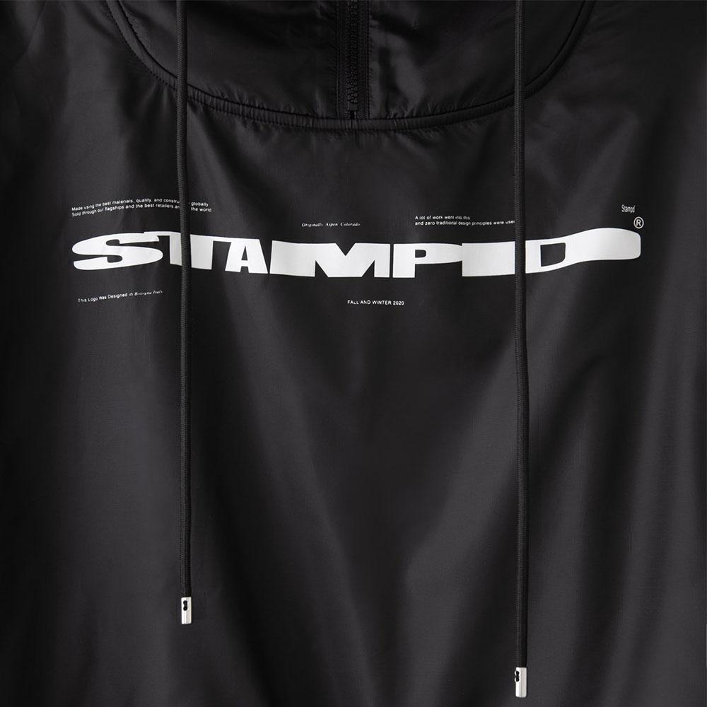 STAMPD フーディー Layered Hoodie SLA-M2290HD BLACK