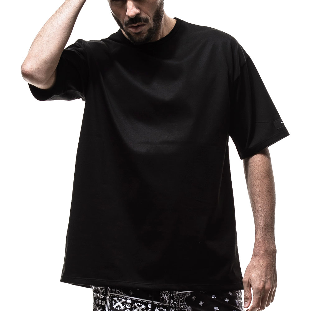 RESOUND CLOTHING Tシャツ loose jersey RC19-T-003 BLACK