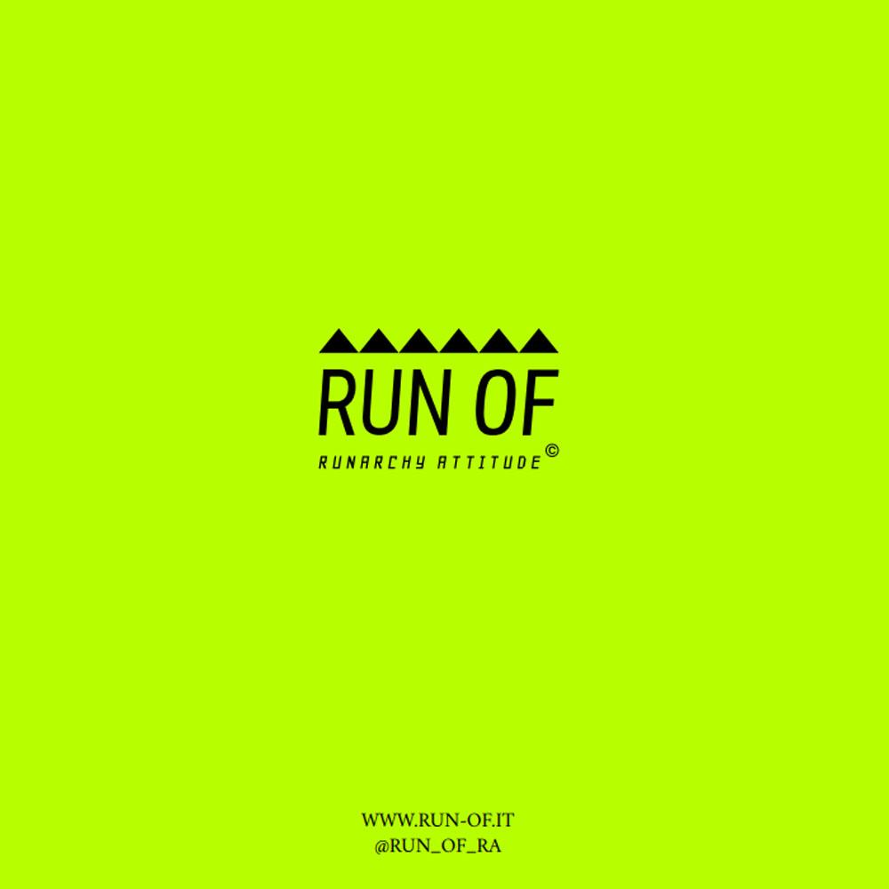 RUN OF スニーカー Smoothie RUN2109 GREYxORANGE