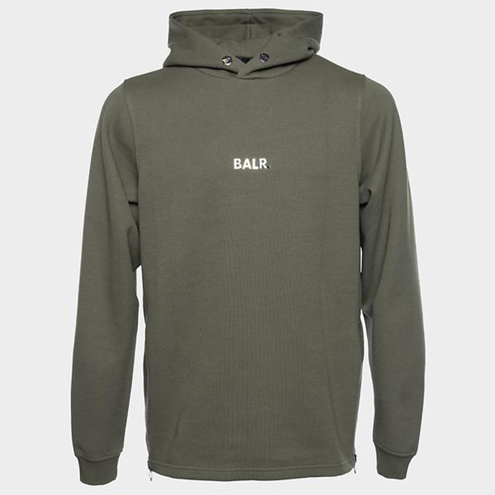BALR. フーディー Q-SERIES STRAIGHT CLASSIC B10011 ARMY GREEN