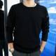 RESOUND CLOTHING ロンT velours fleece neo thermal RC18-C-001 BLACK
