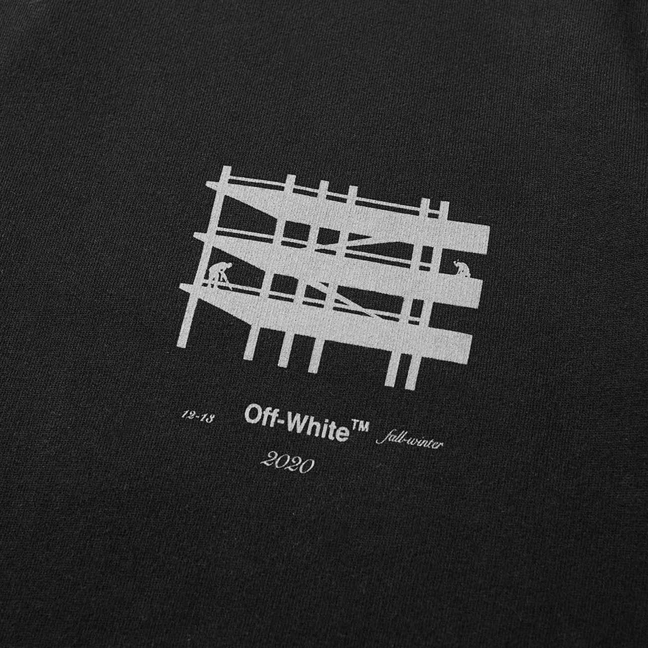 OFF-WHITE スウェット DIAG INDUSTRIAL BLACK
