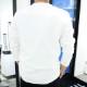 RESOUND CLOTHING ロンT velours fleece neo thermal RC18-C-001 WHITE