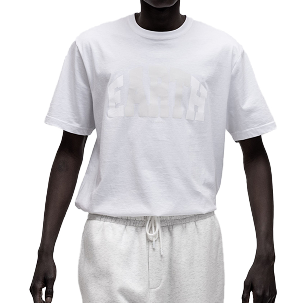 STAMPD Tシャツ Earth Tee S-M2594TE WHITE
