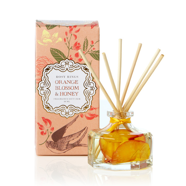 ROSY RINGS ロージーリングス プティボタニカルリードディフューザー Orange Blossom & Honey オレンジブロッサム&ハニー