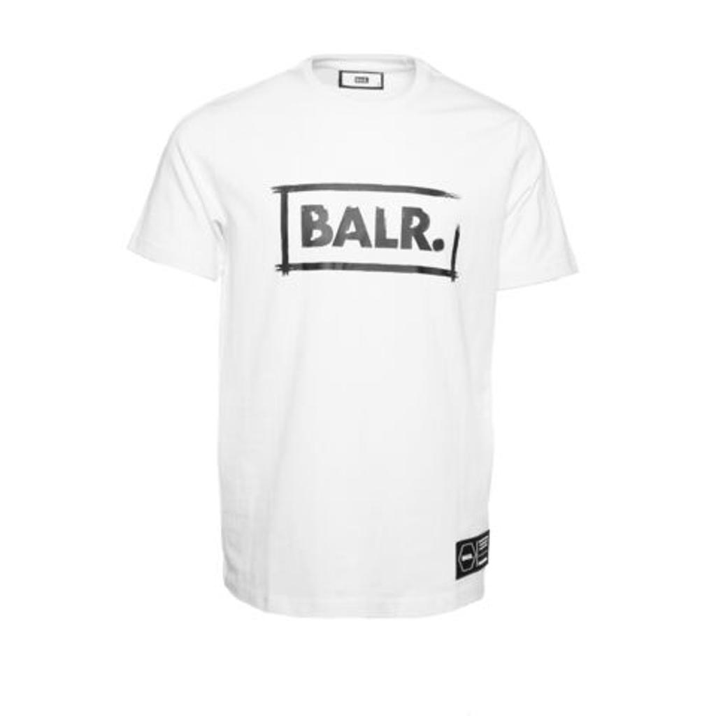 BALR. Tシャツ CHALK STRAIGHT T-SHIRT B10363 WHITE