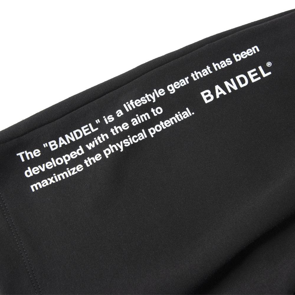 BANDEL ショーツ Side Print Logo Shorts SP005 Black