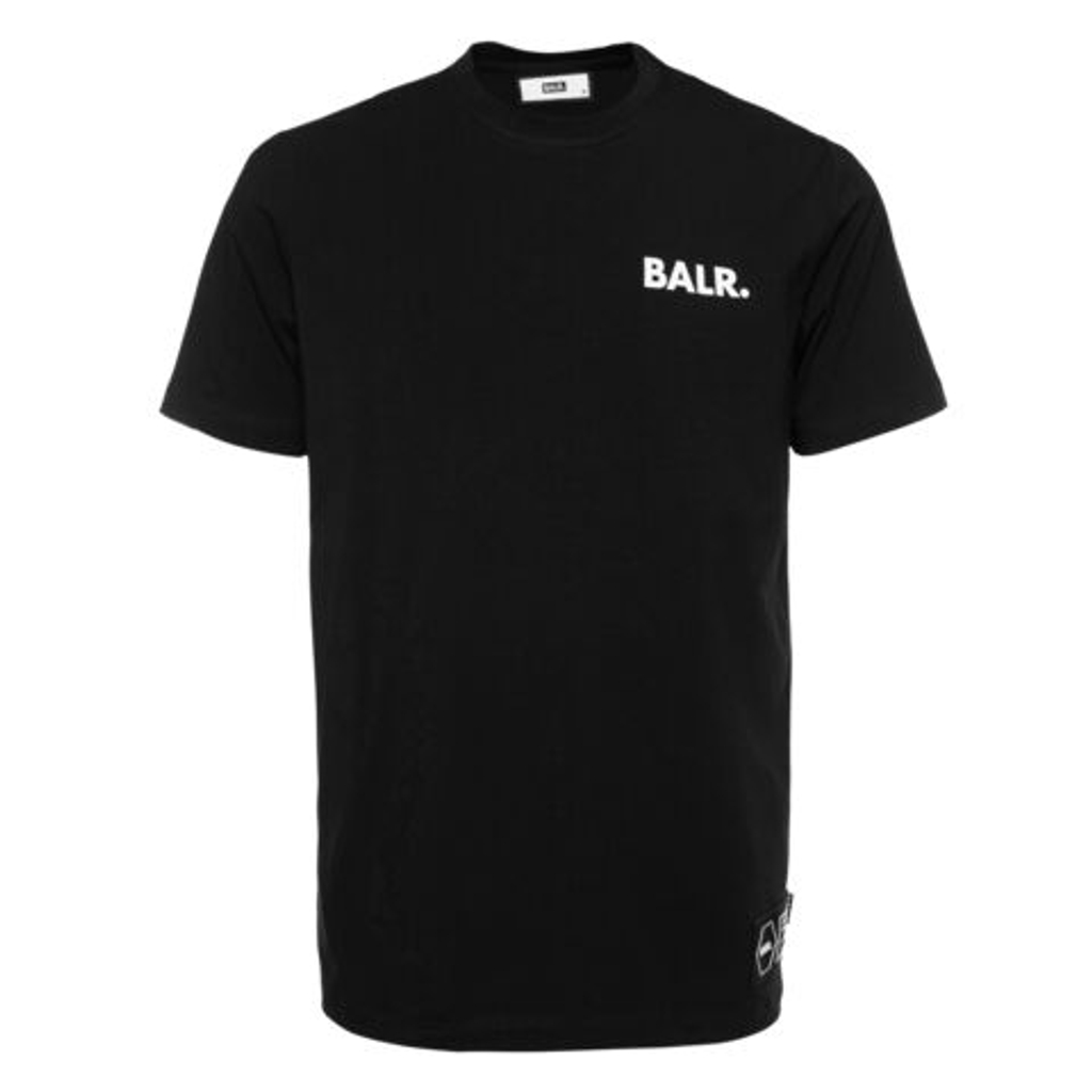 BALR. Tシャツ LOVE AND HATE STRAIGHT B10371 BLACK