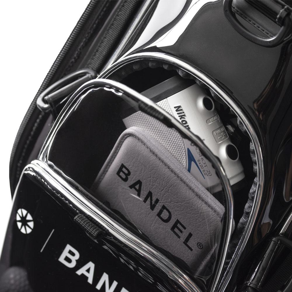 BANDEL キャディバッグ 9.5inch Tour Bag BG-GB002 BLACK