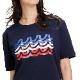 muta MARINE Tシャツ MOTION WAVE MMAX-434198 NAVY