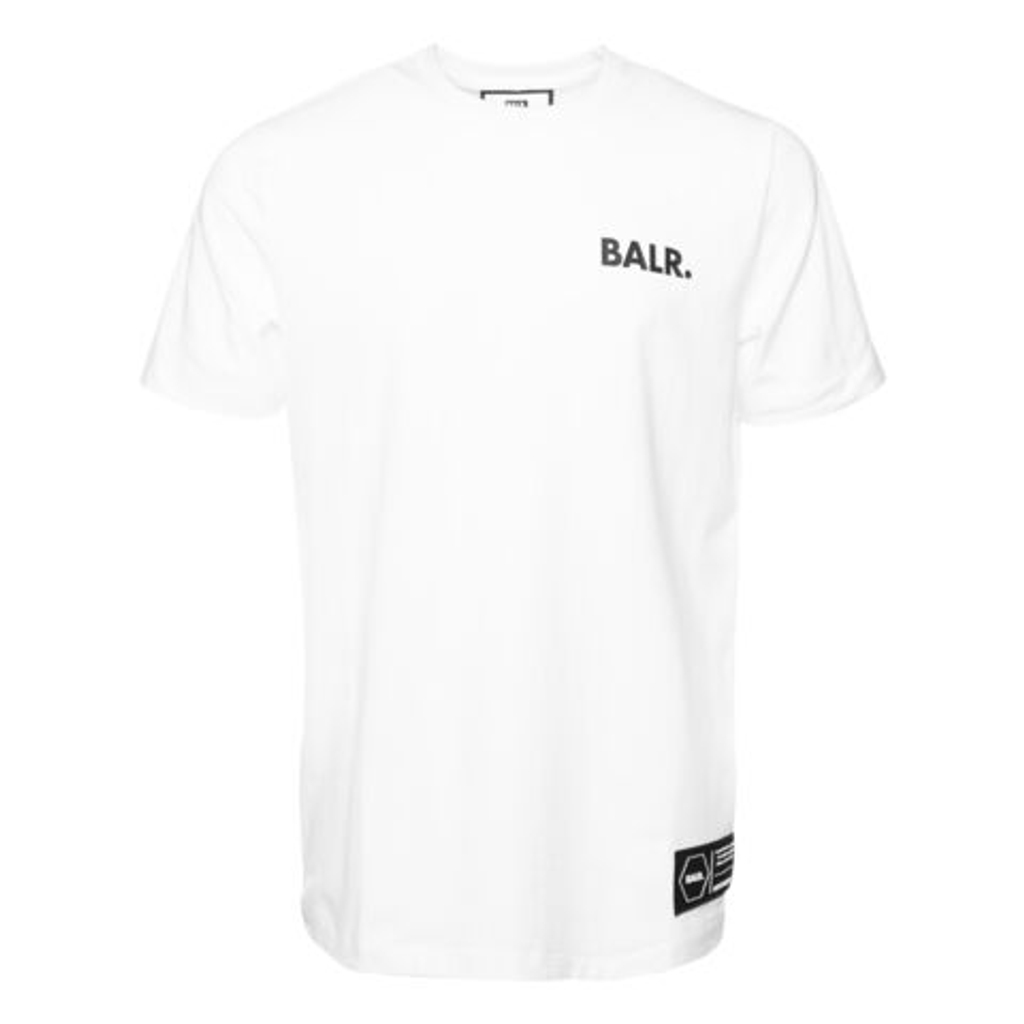 BALR. Tシャツ LOVE AND HATE STRAIGHT B10371 WHITE