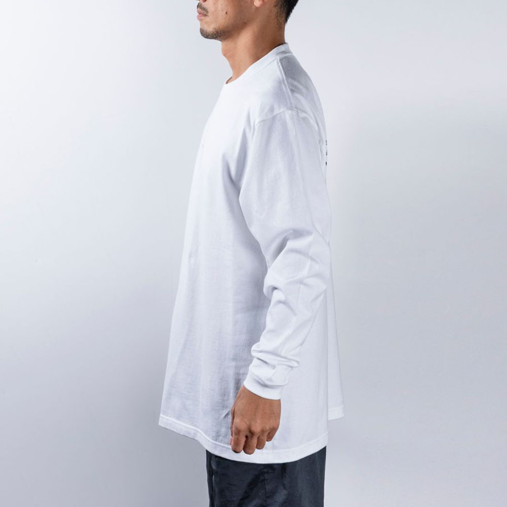BANDEL ロンT GHOST Concept Note BAN-LT022 White×Black