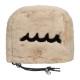 muta MARINE GOLF アイアン用ヘッドカバー WAVE FUR MGBC-191009/IRON BLACK WHITE BEIGE PINK