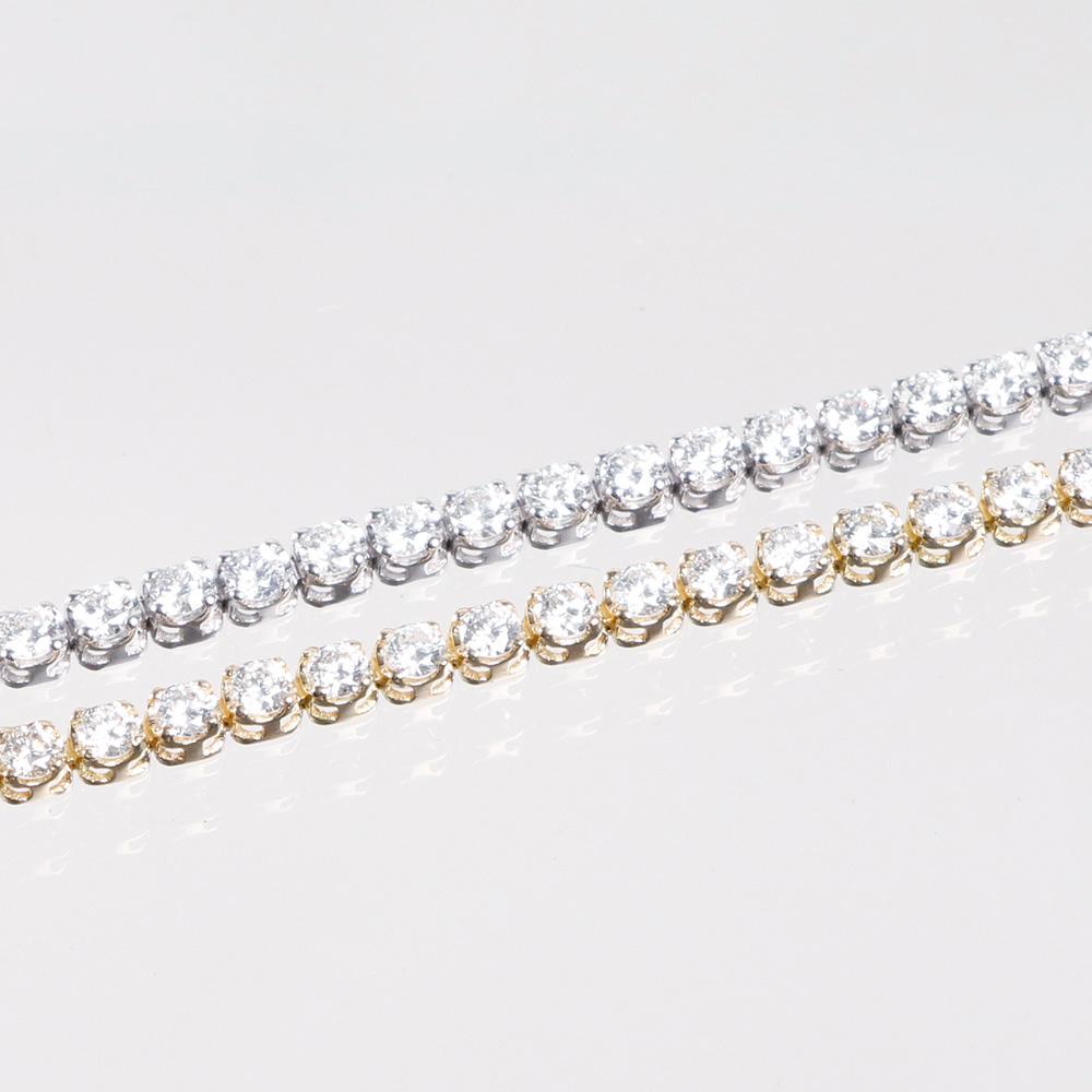 THE BRACELET ブレスレット K18ダイヤ テニスブレス 16cm YELLOW GOLD