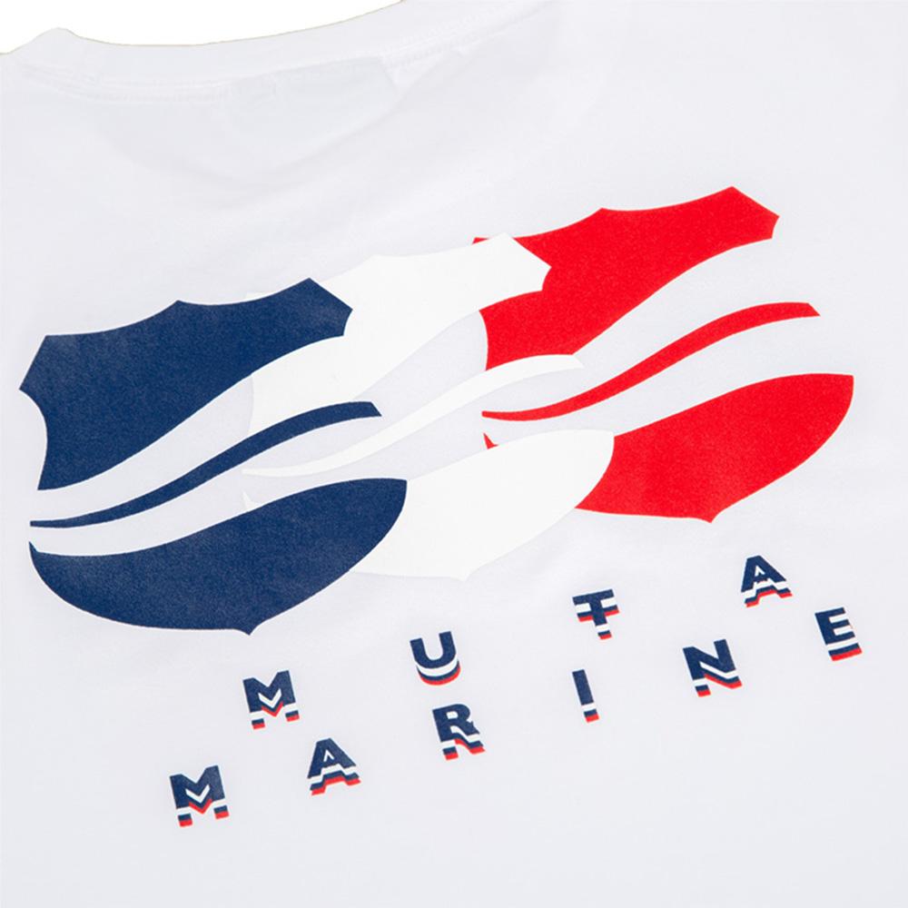 muta MARINE Tシャツ MOTION WAVE MMAX-434198 WHITE