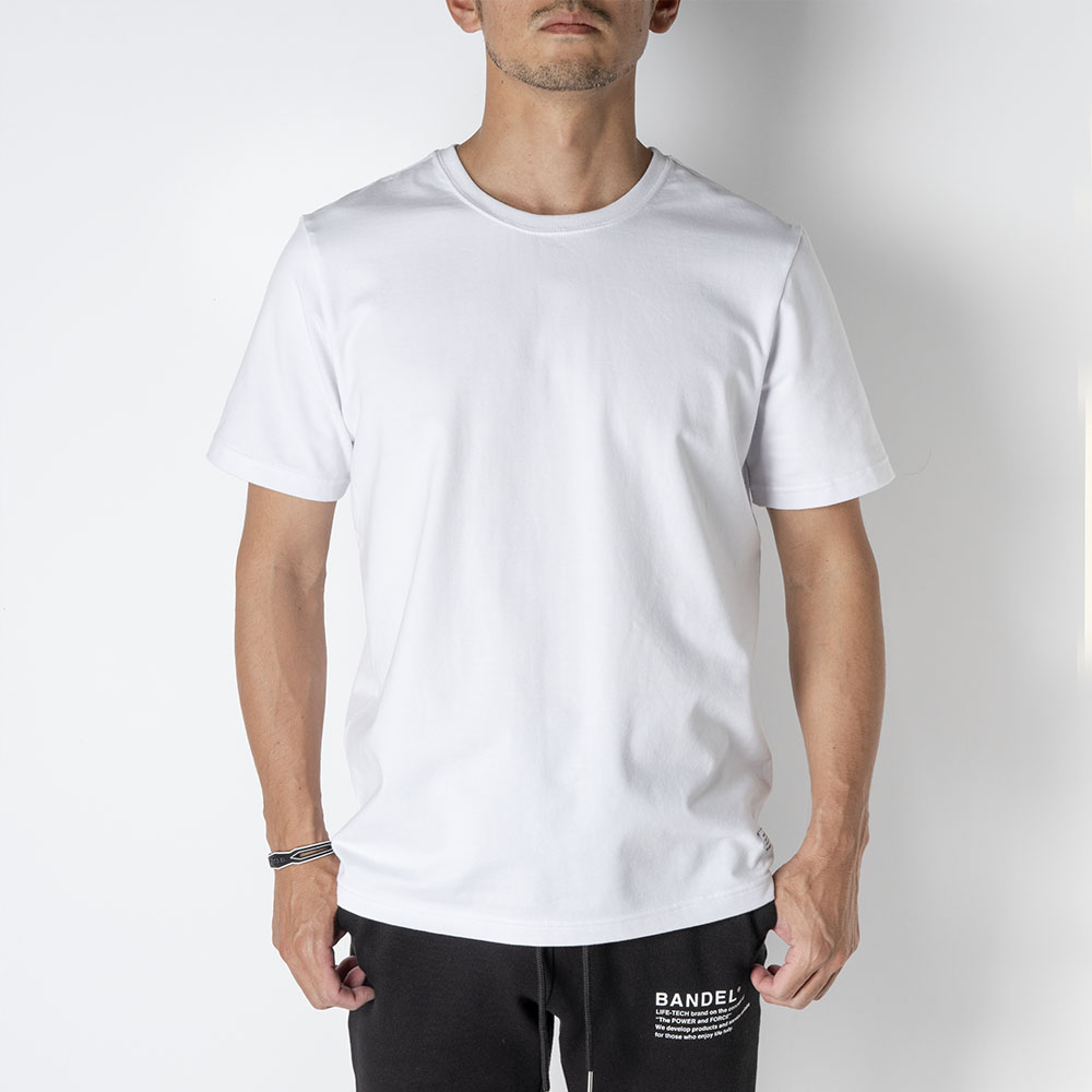 BANDEL Tシャツ S/S T 2piece  Pack BAN-T022 Black&White Set