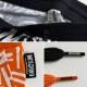 MOSCHINO スウェットパンツ A4309 総柄 ORANGE