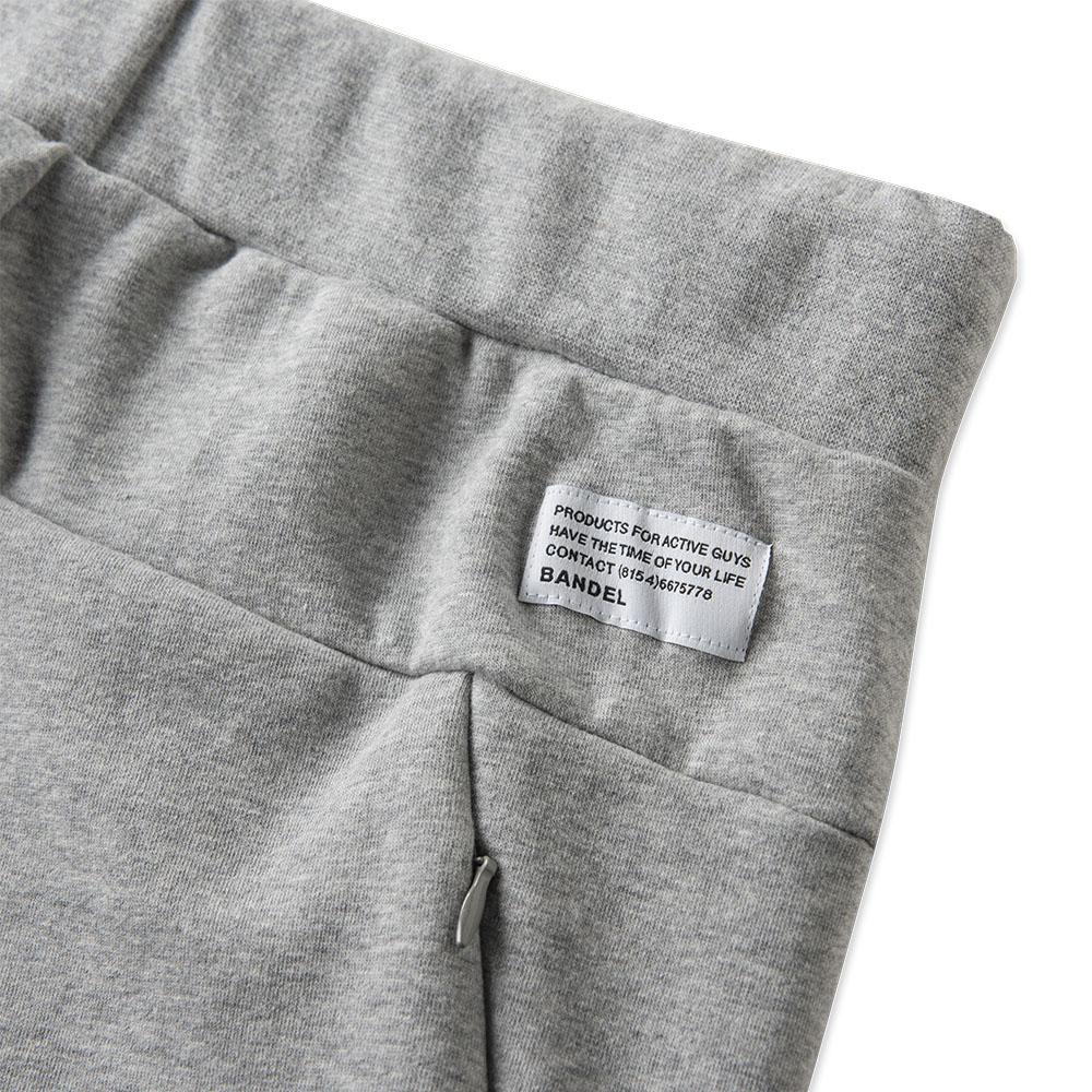 BANDEL バンデル ジョガーパンツ Brand Label BAN-JP005 Heather Grey