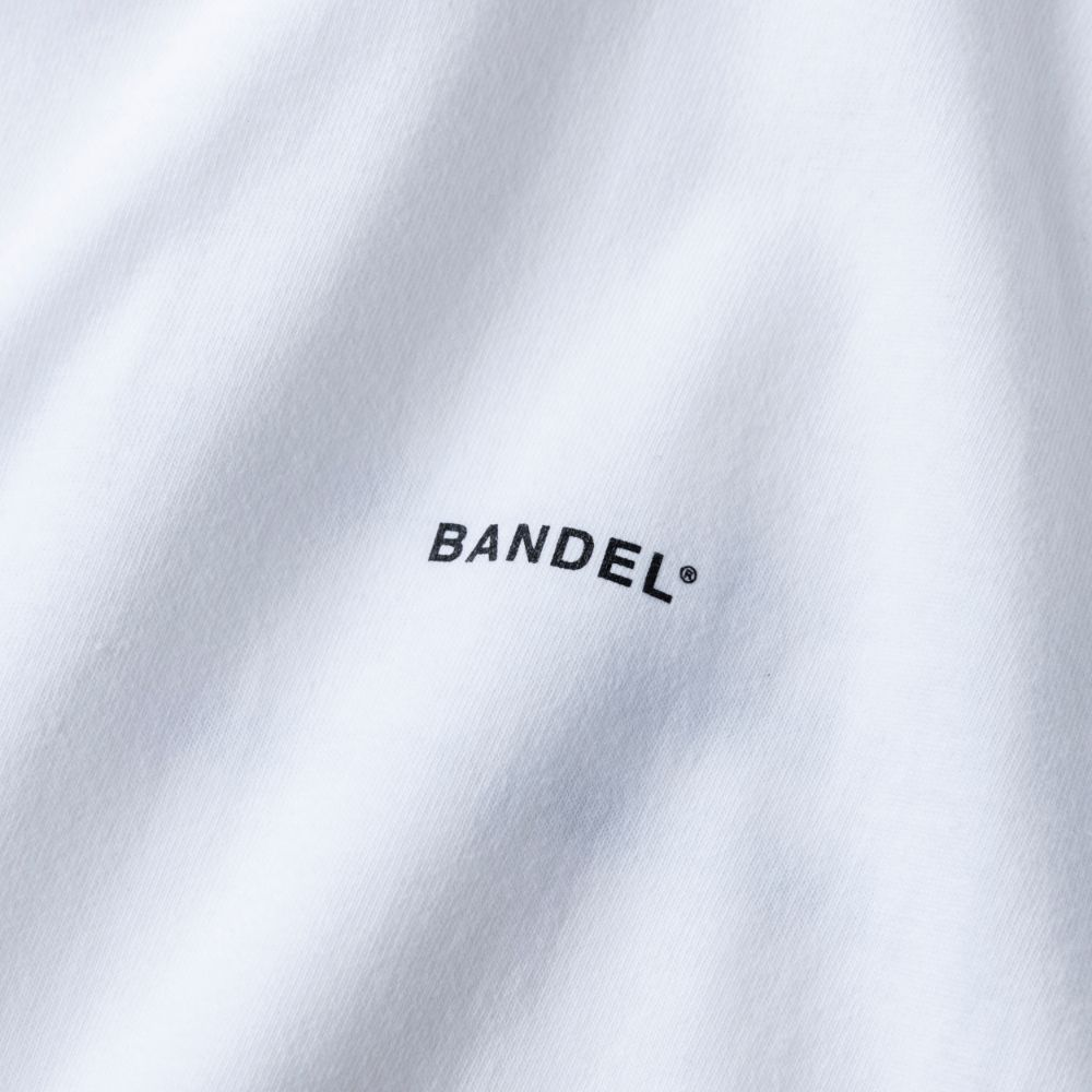 BANDEL ロンT GHOST Concept Note BAN-LT022 White×NeonPink