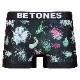 BETONES ボクサーパンツ BOTANICAL-NICA001 BLACK