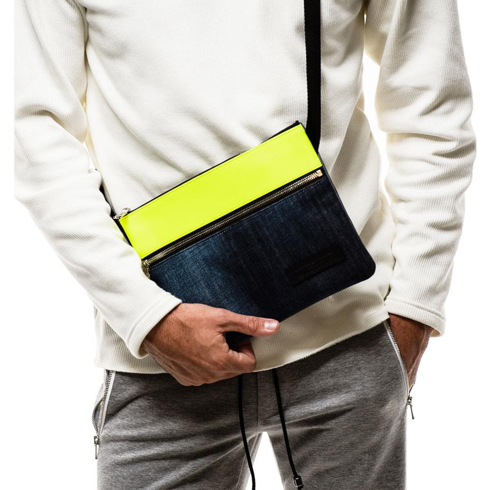 【予約】 RESOUND CLOTHING サコッシュ Sacoche RC18-BAG-003 LIMExINDIGO