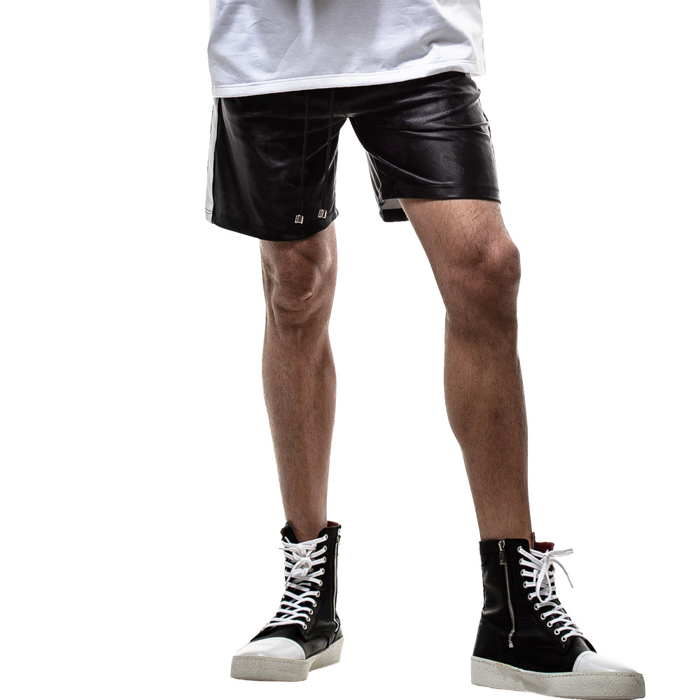 【予約】RESOUND CLOTHING ショーツ BANDANA RUSH SHORTS RC19-HP-002 BLACKxBLACK
