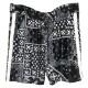 RESOUND CLOTHING ショーツ BANDANA RUSH SHORTS RC19-HP-002 BLACKxWHITE