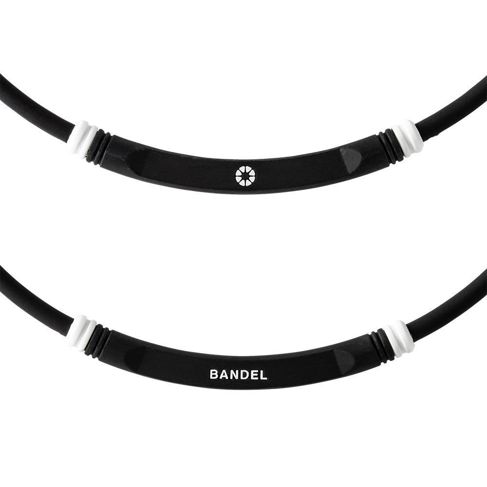 BANDEL ネックレス healthcare BOLD Lite Sports BLACK×WHITE