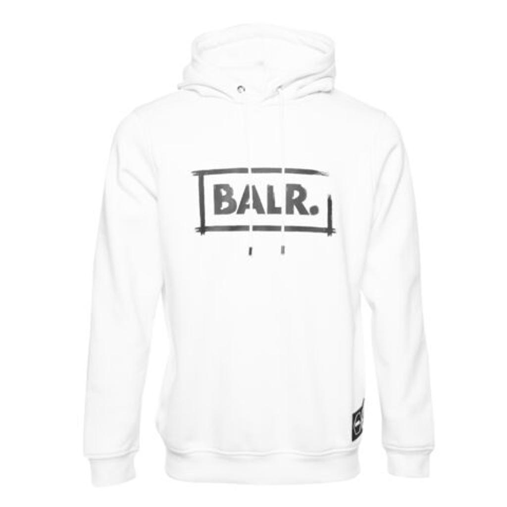BALR. フーディー CHALK STRAIGHT HOODIE B10361 WHITE