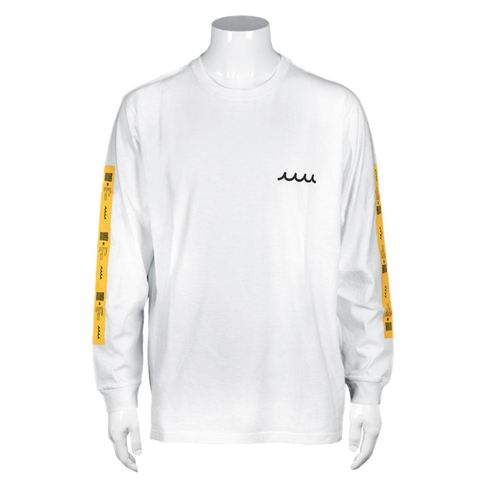 muta MARINE ロンT ラバープリント MMJC-434129 WHITE