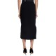 MSGM タイトスカート FLARED TIGHT SKIRT BLACK 38
