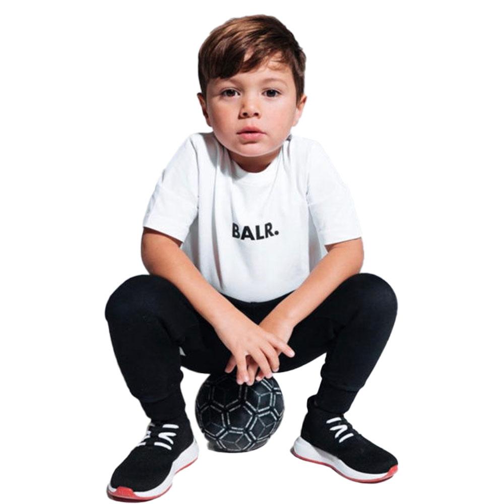 BALR. キッズTシャツ BRAND T-SHIRT B10217 WHITE