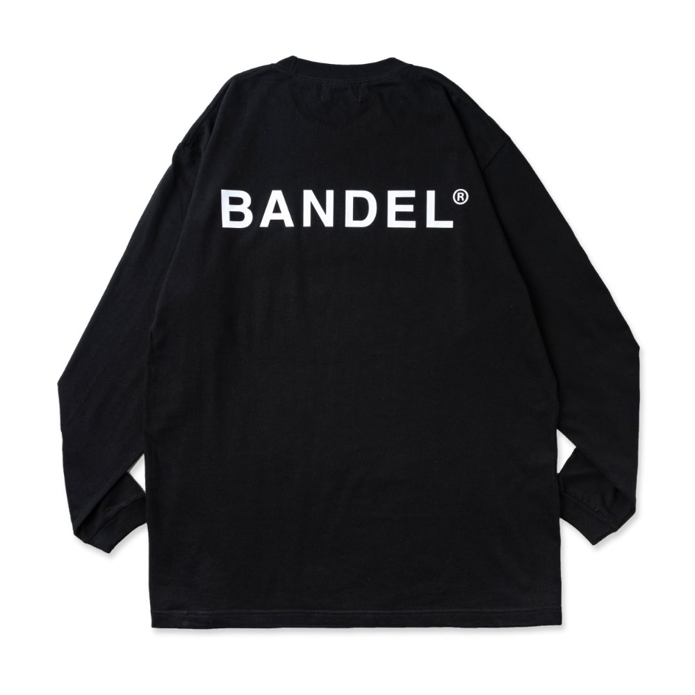 BANDEL ロンT Color Benefit BAN-LT023【ENERGY】Black×NeonPink