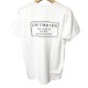 【予約】RESOUND CLOTHING Tシャツ CREW ROLL UP jersey RC19-T-008 WHITE