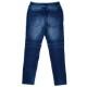 RESOUND CLOTHING パンツ EX denim jersey  biker PT RC14-ST-015 DARK INDIGO