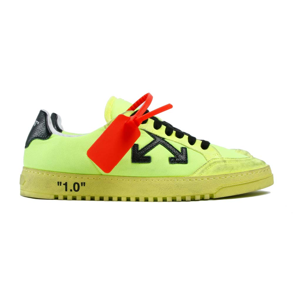 OFF-WHITE スニーカー MEN 2.0 LOW SNEAKERS -YELLOW