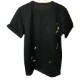 RESOUND CLOTHING Tシャツ PEINT ROLL UP jersey RC19-T-009 BLACKxLIME
