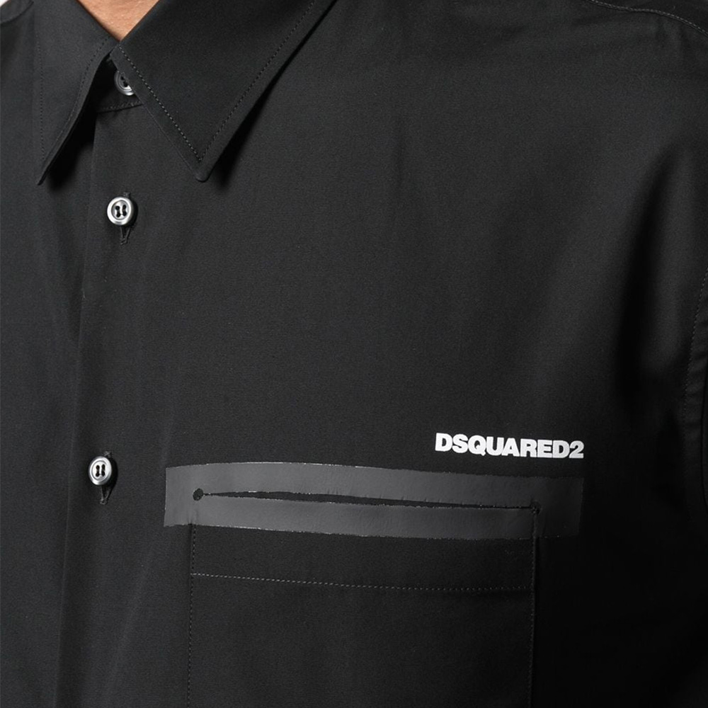DSQUARED2 シャツ S74DM0514S36275 BLACK