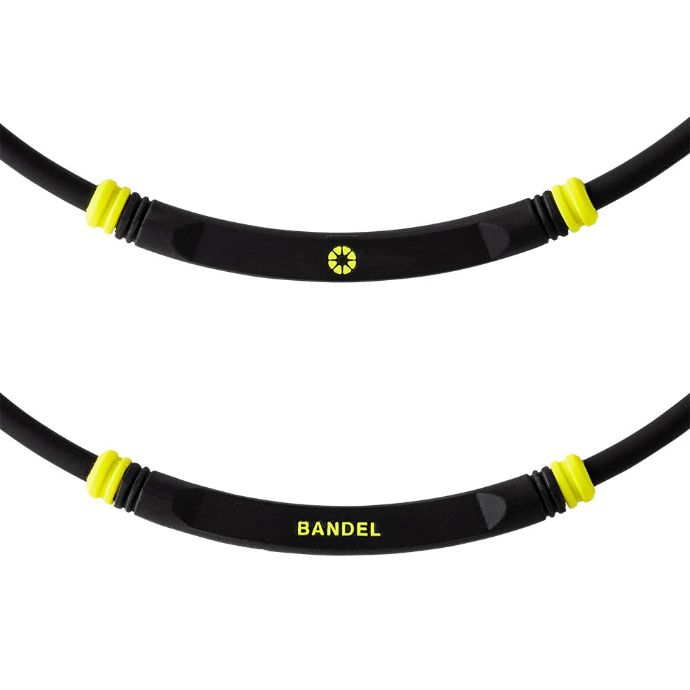 BANDEL ネックレス healthcare BOLD Lite Sports BLACK×YELLOW