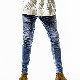 RESOUND CLOTHING パンツ EX denim jersey  biker PT RC14-ST-015 LIGHT INDIGO