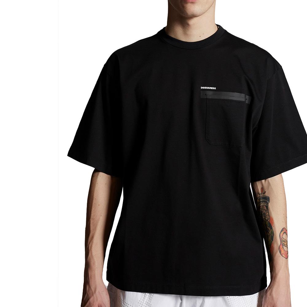 DSQUARED2 Tシャツ S74GD0777S23009 BLACK