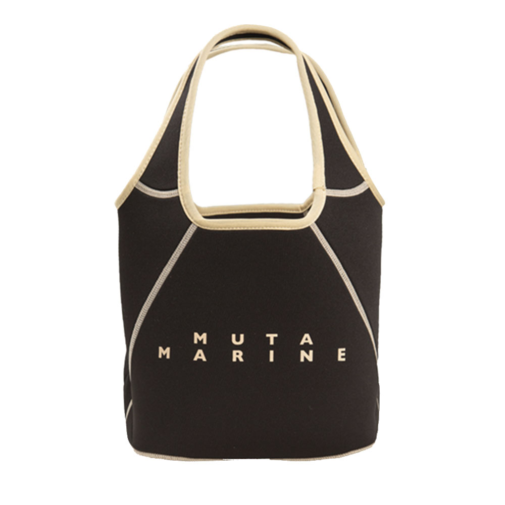 muta MARINE バッグ リバーシブル ミニトート (ポーチ付) MMAV-221032 BLACK