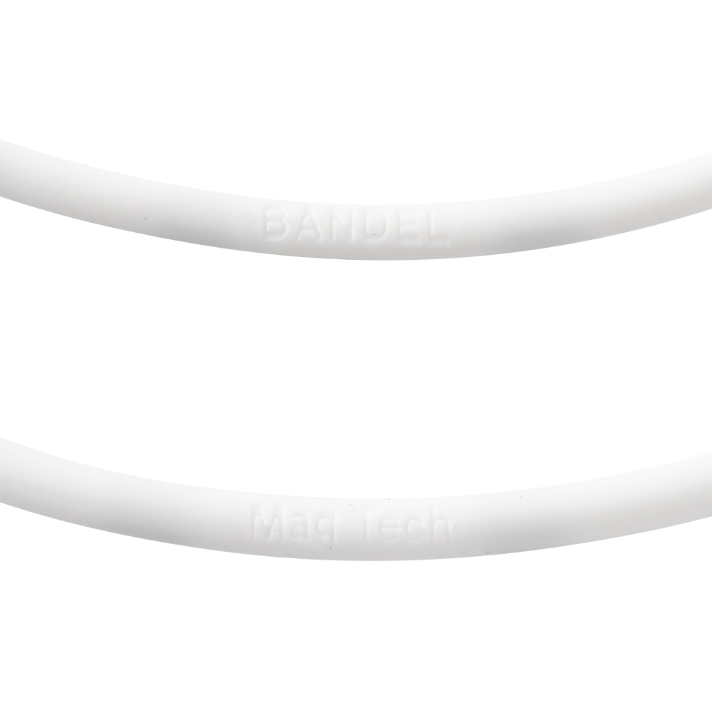 BANDEL ネックレス healthcare BOLD Lite Sports WHITE×BLACK