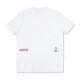 muta MARINE Tシャツ BACK ARRANGEMENT WHITE